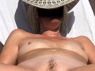 Her pussy just for you. Cum on it and repost
