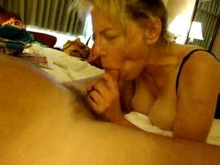 Damn! What a lucky man you are to have your own blowjob goddess.