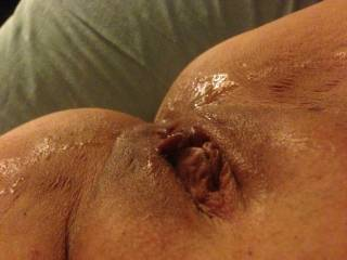 Wow amazing sex and look at the mess he made mmmhhhh so nice