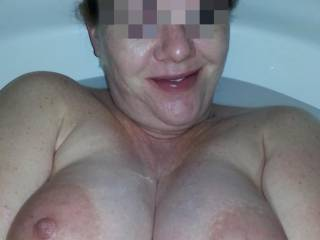 Oh how I miss fucking my pregnant wife... I'm liking your wife's big milk filled titties