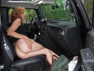 i love the nude stuff in and with the car... its so sexy