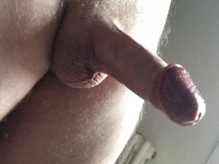 freshly trimmed and shaved - can you tell I\'m feeling horny?!