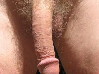 """My cock is compact. It gets hard immediately and then grows to full deep throat length! I only have """"hang time"""" after I shoot a load."""