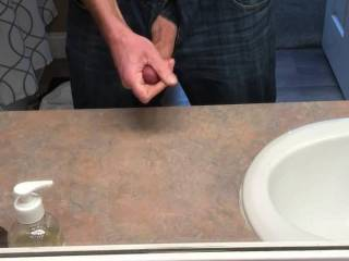 Just a quick little cum while changing for the gym.  Been a while since I posted a vid so I thought I'd share.  Not the greatest but I hope you like it anyway.
