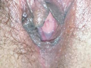 My pussy after being fucked