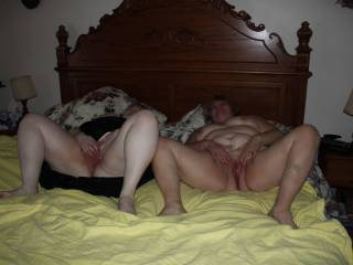 pussy. 3some