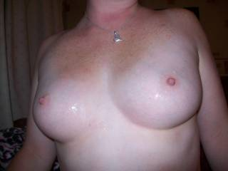 blowing a load over my wife hot tittys