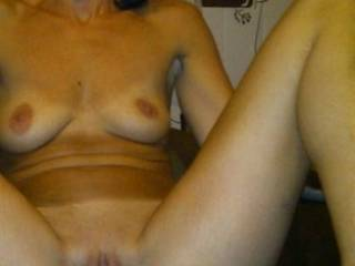 You are sooo hot and sexy. Would you like to feel my cock sliding into your beautiful pussy?