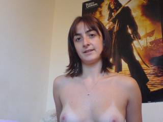 It'd be my pleasure to cum all over your perfect/perky tits and pink lil erect nipples!!!