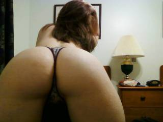 I don't put many ass shots unless there are perfect asses like this. If any body disagrees you show me a better ass than this.