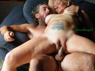 riding my mans magical cock!!