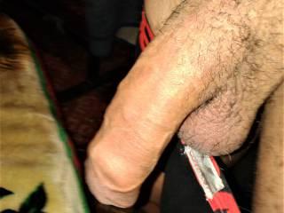 hanging foreskin