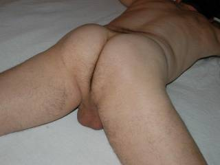very fuckable ass and great set of balls too