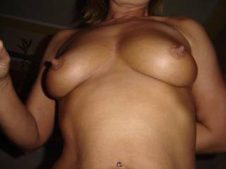 """I would like to give you the official """"Best Nipples"""" award!! Your tits and nipples are FANTASTIC!!! Would love to suck and play with them!!"""