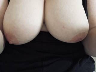 These beautiful tits need something slipped between them…any suggestions?