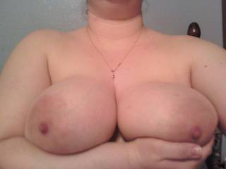 My nipples are just asking to be sucked or played with. Can you help me out?