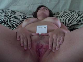 """Im ready for you so hit me up ;) Seriously though...That lovely pussy looks hungry for me to stick my hard """"Average"""" cock into and pound it into orgasm with my large body and stud like fucking =)"""