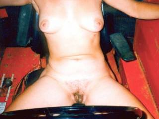 It would be better if you let me do the trimming of the bush! I'd love to shave your beautiful pussy and then eat you until you beg me to stop and fuck you! You have a very sexy body, thanks for sharing it here! Hope to see more soon?