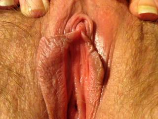 showing me her clit