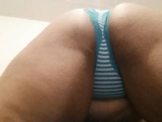 A good spanking first before sliding those panties over teasing with this wicked tongue mmmmmmmmm the taste of your sweet juice has me on fire as fingers then fist go deep has you begging for cock!