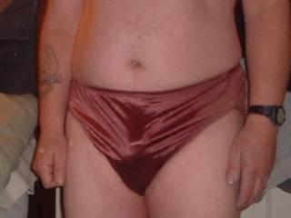 Ex wife\'s panties, these feel good !