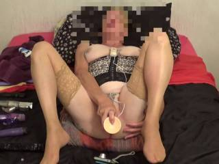 H all I do enjoy feeling a smooth long dildo deep inside me makes me cum every time. comments very welcome  mature couple