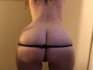 #1 pic of my hot amateur pawg milfs phat ass, what you think? I love it!