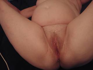Licked her Pussy until she was almost begging for my Cock.