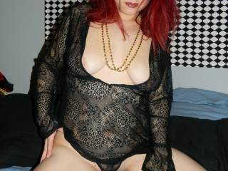 sexy top would love to take you out in it that way we could play with your sexy tits all night