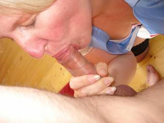 It would be bliss for me too if I could feel your lips and tongue on my cock