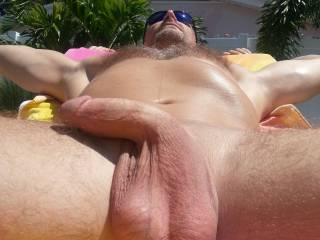 That sexy cock would look great, hard and hammering my sexy wife's sweet pussy..
