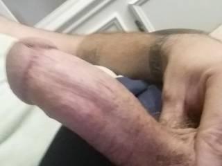 Feeling horny needing some love on my cock.