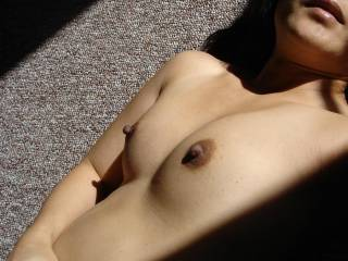 I think some afternoon cum on those tits and fabulous nipples would feel sooooo good too!
