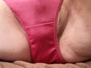 My new HHW nylon hi cut panties, very silkie, very sexy... These feel GOOD !