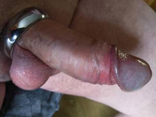 Cock ring erection