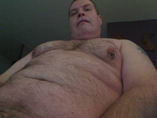 Just a pic of me showing my tits and piercing