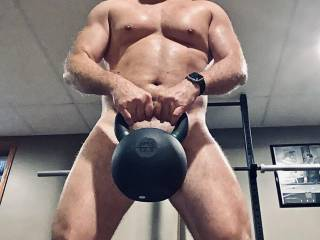 Interested in lifting something hard and getting hot and sweaty in the process?