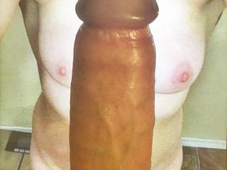 She wanted my cock over her sexy tits - who am I to say no...
