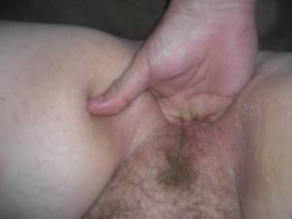 I would love to have your wife suck on my cock and taste that nice pussy too!