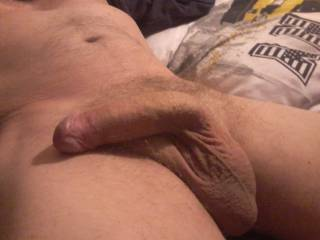 Pulled my foreskin back now