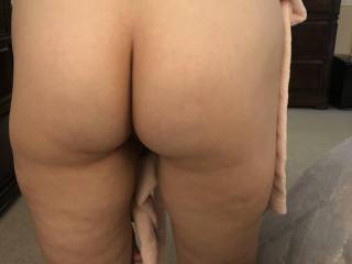 My man got me bending over with no underwear on.  He loves my booty.  He rarely passes up a time to fuck it.  Yummy!  Booty play.