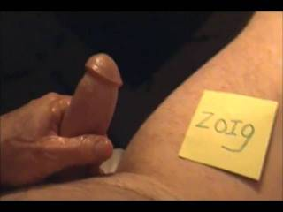 Long stroke and huge cum...love to see your comments