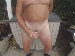 68 year old man cumming in the country........