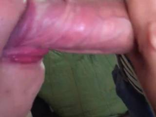 my friend invited me over so he could film his girl sucking me!