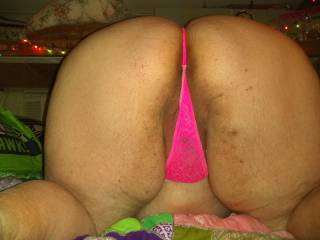 a granny with a big ass