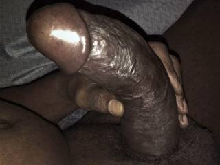 In my bed after shower rubbing my balls think\'n about fucking a whitegirl, no you don\'t get it like, like really fucking the shit out of her and my dick got this gotdamn hard. I need some whitegirl pussy, now ... if she like tasty nigganut I GOT PLENTY !