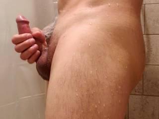 A little shower masterbation
