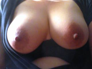 Slut wife loves her C Cup Titties slapped around and her big pink nipples pulled on