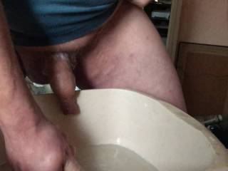 3 of 5 - jerking around the house, with water. Bathroom
