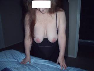 my dick wants to make his own cum on your tits